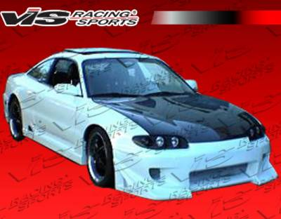 MX6 - Front Bumper - VIS Racing - Mazda MX6 VIS Racing Battle Z Front Bumper - 93MZMX62DBZ-001