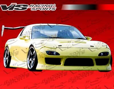 RX7 - Front Bumper - VIS Racing. - Mazda RX-7 VIS Racing B Speed Front Bumper - 93MZRX72DBSP-001