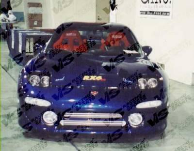 RX7 - Front Bumper - VIS Racing - Mazda RX-7 VIS Racing Evolution Front Bumper - 93MZRX72DEVO-001