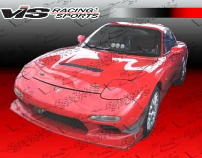 RX7 - Front Bumper - VIS Racing - Mazda RX-7 VIS Racing JS Front Bumper - 93MZRX72DJS-001