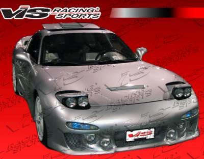 RX7 - Front Bumper - VIS Racing - Mazda RX-7 VIS Racing KS Front Bumper - 93MZRX72DKS-001