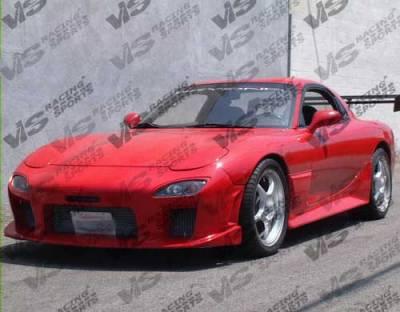 RX7 - Front Bumper - VIS Racing - Mazda RX-7 VIS Racing Magnum Front Bumper - 93MZRX72DMAG-001