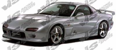 RX7 - Front Bumper - VIS Racing - Mazda RX-7 VIS Racing Magnum-2 Front Bumper - 93MZRX72DMAG2-001
