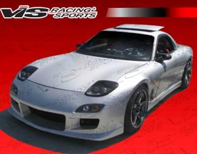 RX7 - Front Bumper - VIS Racing - Mazda RX-7 VIS Racing R Speed Front Bumper - 93MZRX72DRSP-001