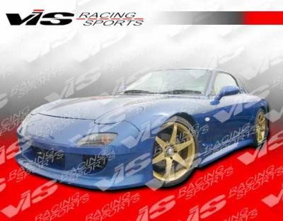 RX7 - Front Bumper - VIS Racing - Mazda RX-7 VIS Racing V Speed Front Bumper - 93MZRX72DVSP-001