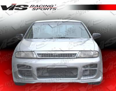 Altima - Front Bumper - VIS Racing - Nissan Altima VIS Racing Octane Front Bumper - 93NSALT4DOCT-001