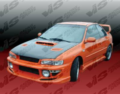 Impreza - Front Bumper - VIS Racing - Subaru Impreza VIS Racing Tracer Front Bumper - 93SBIMP4DTRA-001