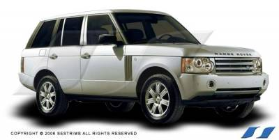 Range Rover - Body Kit Accessories - SES Trim - Land Rover Range Rover SES Trim Pillar Post - 304 Mirror Shine Stainless Steel - 6PC - P164