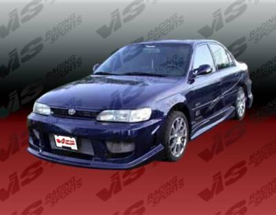 Corolla - Front Bumper - VIS Racing. - Toyota Corolla VIS Racing Striker Front Bumper - 93TYCOR4DSTR-001