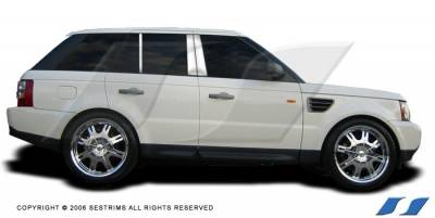 Range Rover - Body Kit Accessories - SES Trim - Land Rover Range Rover SES Trim Pillar Post - 304 Mirror Shine Stainless Steel - 6PC - P165