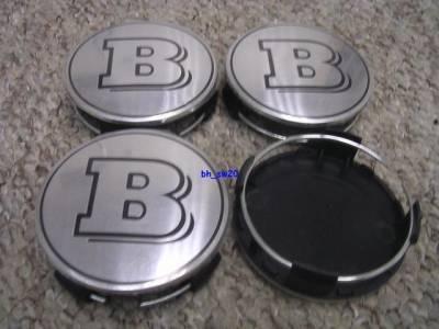 Accessories - Wheel Caps - Custom - Brabus Wheel Caps