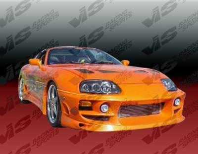 Supra - Front Bumper - VIS Racing - Toyota Supra VIS Racing Ballistix Front Bumper - 93TYSUP2DBX-001
