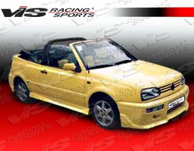 Golf - Front Bumper - VIS Racing - Volkswagen Golf VIS Racing Xtreme Front Lip - 93VWGOF2DEX-011