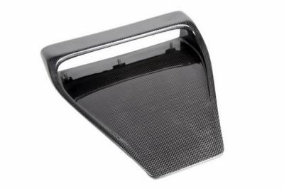 Carbign Craft - Mitsubishi Lancer Carbign Craft Hood Scoop - CBX-EVOHDSCP