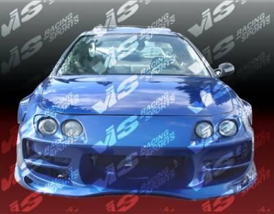 Integra 2Dr - Front Bumper - VIS Racing - Acura Integra VIS Racing Ballistix Front Bumper - 94ACINT2DBX-001