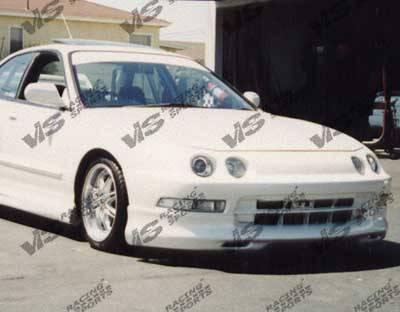 Integra 2Dr - Front Bumper - VIS Racing - Acura Integra VIS Racing Dragster Front Lip - 94ACINT2DDRA-011
