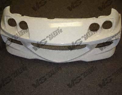 Integra 2Dr - Front Bumper - VIS Racing - Acura Integra VIS Racing GT Bomber Front Bumper - 94ACINT2DGB-001
