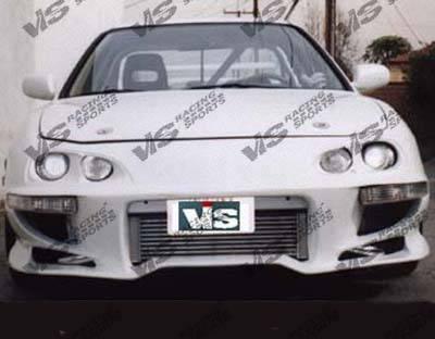 Integra 2Dr - Front Bumper - VIS Racing - Acura Integra VIS Racing Invader-1 Front Bumper - 94ACINT2DINV1-001