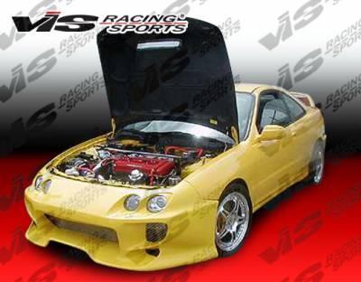 Integra 2Dr - Front Bumper - VIS Racing - Acura Integra VIS Racing Invader 2 Front Bumper - 94ACINT2DINV2-001