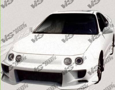 Integra 2Dr - Front Bumper - VIS Racing - Acura Integra VIS Racing Invader-4 Front Bumper - 94ACINT2DINV4-001