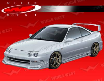 Integra 2Dr - Front Bumper - VIS Racing - Acura Integra VIS Racing JPC Front Lip - 94ACINT2DJPC-011P