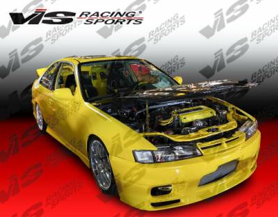 VIS Racing. - Acura Integra 2DR VIS Racing S14 Omega Front Bumper - 94ACINT2DS14OMA-001