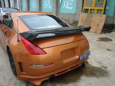 Spoilers - Custom Wing - Bayspeed. - Nissan 350Z Bay Speed NS Style R Carbon Fiber Spoiler - CF3050NM-S