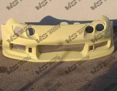 Integra 2Dr - Front Bumper - VIS Racing - Acura Integra 2DR VIS Racing Tracer-2 Front Bumper - 94ACINT2DTRA2-001