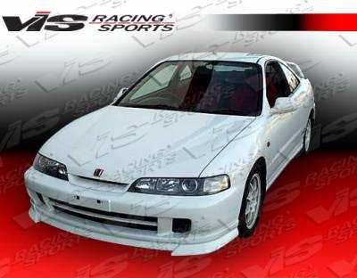 Integra 2Dr - Front Bumper - VIS Racing - Acura Integra VIS Racing Ace Front Lip - 94ACITR2DACE-011