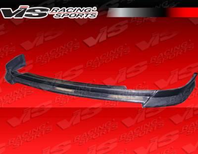 JDM Integra - Front Bumper - VIS Racing - Acura JDM Integra VIS Racing Ace Carbon Fiber Lip - 94ACITR2DACE-011C