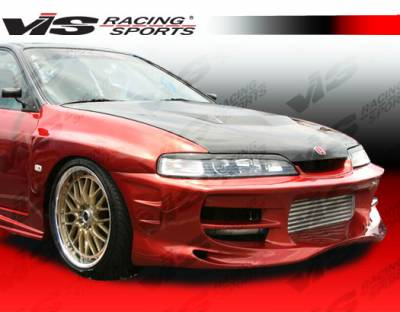Integra 2Dr - Front Bumper - VIS Racing - Acura Integra VIS Racing Ballistix Front Bumper - 94ACITR2DBX-001