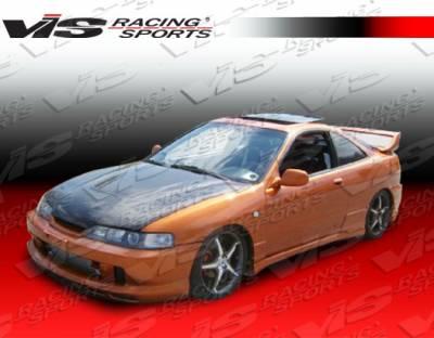Integra 2Dr - Front Bumper - VIS Racing - Acura Integra VIS Racing Dragster Front Lip - 94ACITR2DDRA-011