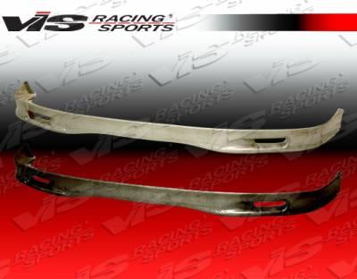 JDM Integra - Front Bumper - VIS Racing - Acura JDM Integra VIS Racing Type-S Silver Carbon Fiber Lip - 94ACITR2DSPN-011S