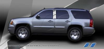 Tahoe - Body Kit Accessories - SES Trim - Chevrolet Tahoe SES Trim Pillar Post - 304 Mirror Shine Stainless Steel - P192