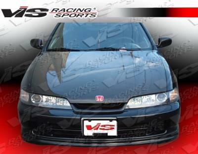 JDM Integra - Front Bumper - VIS Racing - Acura JDM Integra VIS Racing Type-R Carbon Fiber Lip - 94ACITR2DTYR-011C