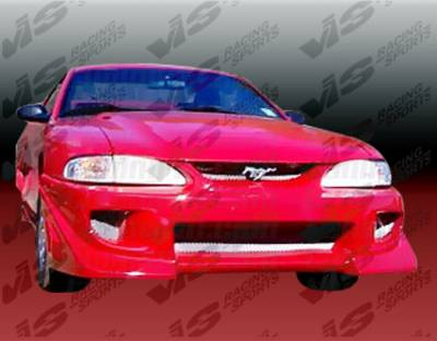 Mustang - Front Bumper - VIS Racing - Ford Mustang VIS Racing Battle Z Front Bumper - 94FDMUS2DBZ-001