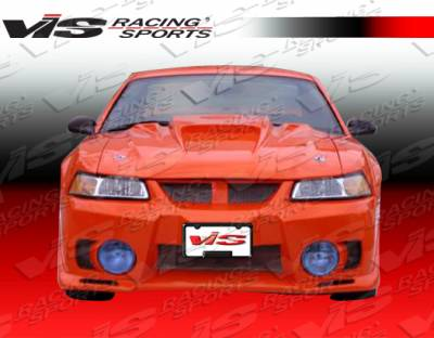 Mustang - Front Bumper - VIS Racing - Ford Mustang VIS Racing EVO-5 Front Bumper - 94FDMUS2DEVO5-001