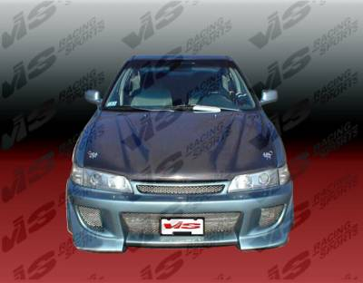 Accord 2Dr - Front Bumper - VIS Racing - Honda Accord 2DR & 4DR VIS Racing Battle Z Front Bumper - 94HDACC2DBZ-001