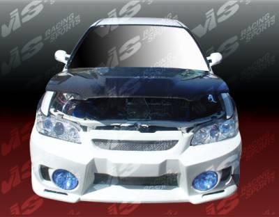 Accord 2Dr - Front Bumper - VIS Racing - Honda Accord 2DR & 4DR VIS Racing EVO-5 Front Bumper - 94HDACC2DEVO5-001