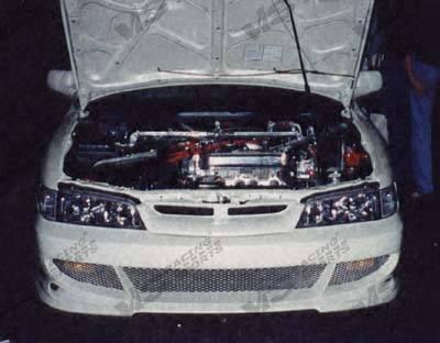 Accord 2Dr - Front Bumper - VIS Racing - Honda Accord 2DR & 4DR VIS Racing Fuzion Front Bumper - 94HDACC2DFUZ-001