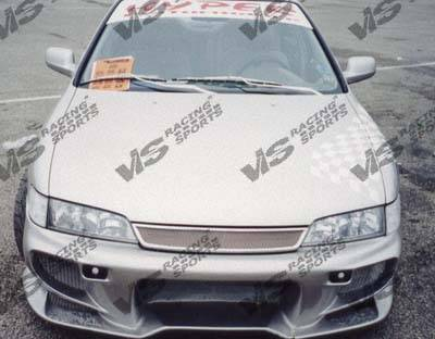 Accord 2Dr - Front Bumper - VIS Racing - Honda Accord 2DR & 4DR VIS Racing Invader-2 Front Bumper - 94HDACC2DINV2-001