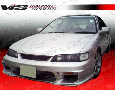 Accord 2Dr - Front Bumper - VIS Racing - Honda Accord 2DR & 4DR VIS Racing Invader-3 Front Bumper - 94HDACC2DINV3-001