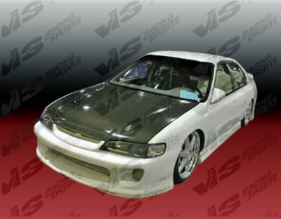 Accord 2Dr - Front Bumper - VIS Racing - Honda Accord 2DR & 4DR VIS Racing Kombat Front Bumper - 94HDACC2DKOM-001