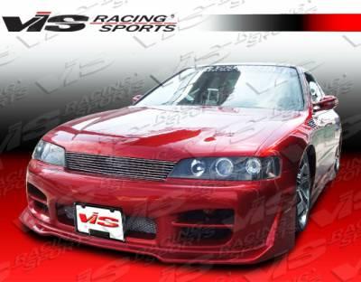 Accord 2Dr - Front Bumper - VIS Racing - Honda Accord 2DR & 4DR VIS Racing Octane Front Bumper - 94HDACC2DOCT-001