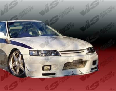 Accord 2Dr - Front Bumper - VIS Racing - Honda Accord 2DR & 4DR VIS Racing Omega Front Bumper - 94HDACC2DOMA-001