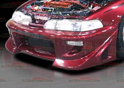 Integra 4Dr - Front Bumper - AIT Racing - Acura Integra AIT Racing BZ Style Front Bumper - AI90HIBZSFB