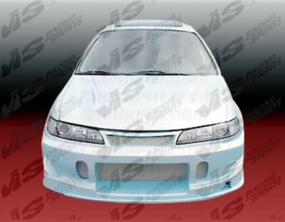 Accord 2Dr - Front Bumper - VIS Racing - Honda Accord 2DR & 4DR VIS Racing TSC Front Bumper - 94HDACC2DTSC-001