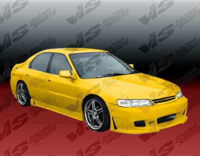 Accord 2Dr - Front Bumper - VIS Racing - Honda Accord 2DR & 4DR VIS Racing TSC-3 Front Bumper - 94HDACC2DTSC3-001