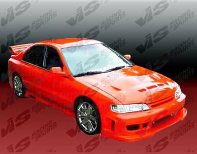 Accord 2Dr - Front Bumper - VIS Racing - Honda Accord 2DR & 4DR VIS Racing Z1 boxer Front Bumper - 94HDACC2DZ1-001