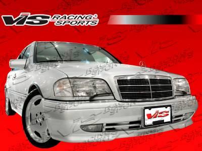 C Class - Front Bumper - VIS Racing - Mercedes-Benz C Class VIS Racing Euro Tech Front Bumper - 94MEW2024DET-001